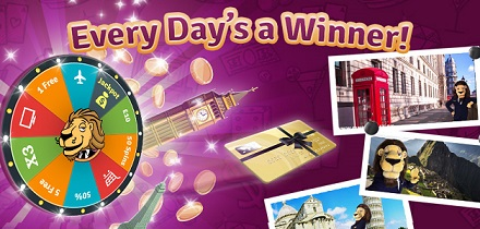 Spin the Wheel of Fortune – And Win a Daily Prize!